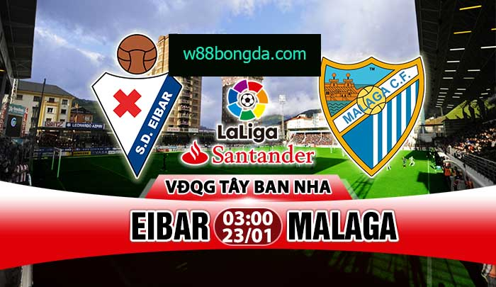 Soi kèo trận đấu Eibar vs Malaga
