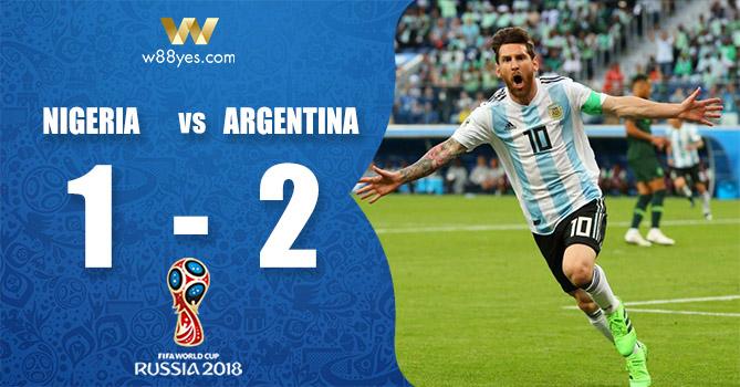 World Cup 2018 - Nigeria 1-2 Argentina