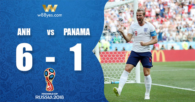 Kết quả World Cup 2018 - Anh 6-1 Panama