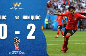 Đức 0-2 Hàn Quốc: Mannschaft đã nói lời chia tay với World Cup 2018