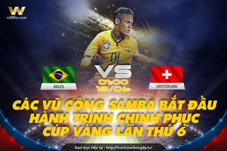 Soi kèo bóng đá - Brazil vs Thụy Sĩ