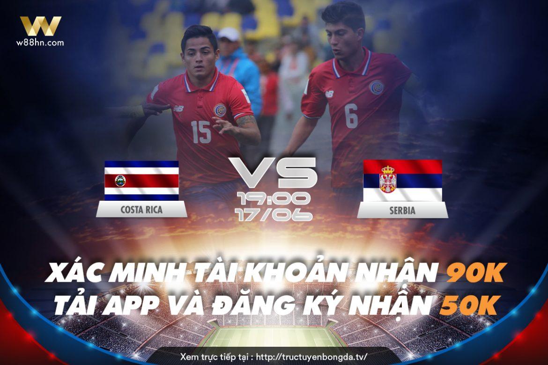 Soi kèo bóng đá - Costa Rica vs Serbi