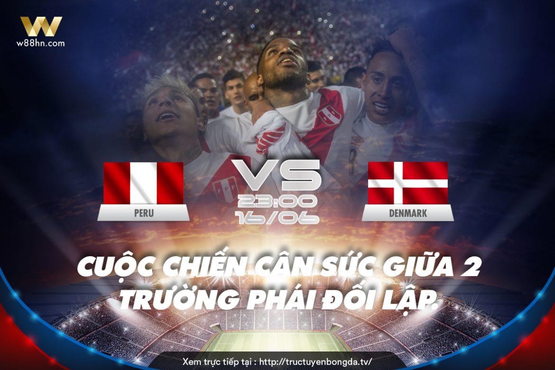 Soi kèo bóng đá - Peru vs Đan Mạch