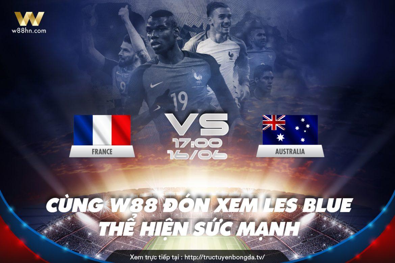 Soi kèo bóng đá - Pháp vs Úc