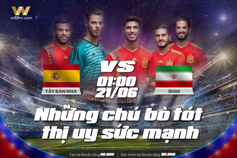 Soi kèo bóng đá - Tây Ban Nha vs Iran