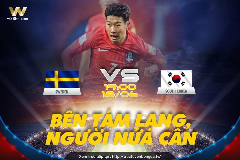 Soi kèo bóng đá - Thụy Điển vs Hàn Quốc