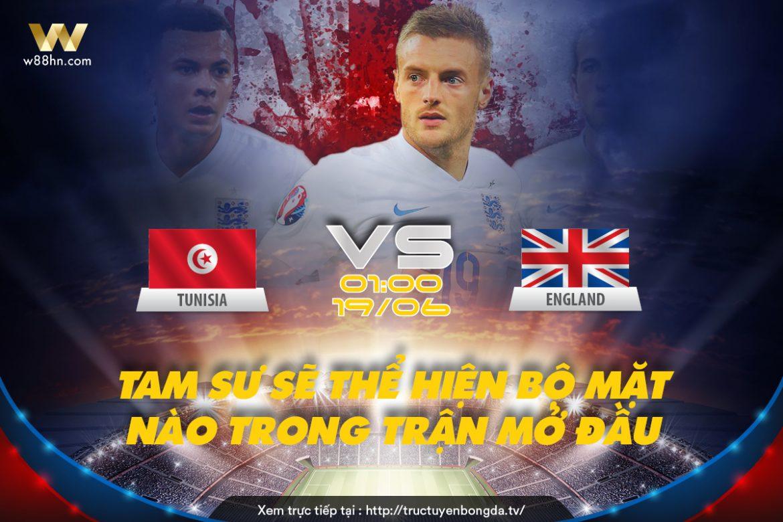 Soi kèo bóng đá - Tunisi vs Anh