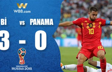 kết quả world cup 2018 bỉ vs panama