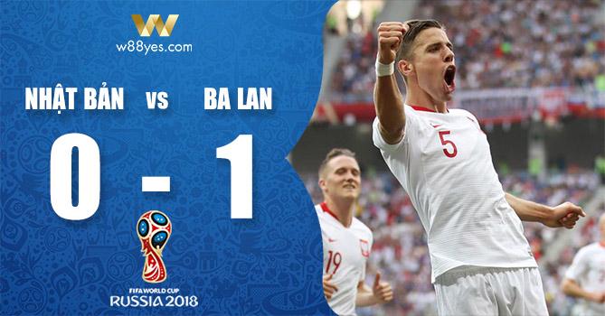 Kết quả World Cup 2018 - Nhật Bản 0-1 Ba Lan: Đại diện của châu Á đi tiếp nhờ chỉ số fair-play