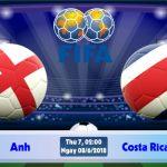 soi kèo bóng đá - Anh vs Costa Rica