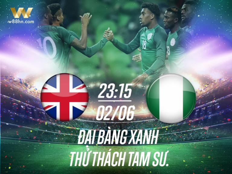 soi kèo world cup 2018 - Anh vs Nigeria