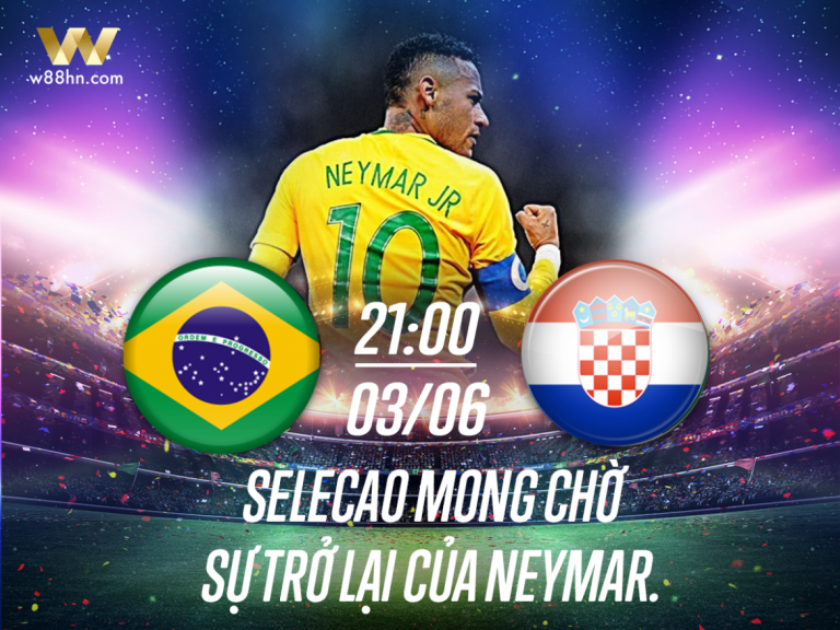 soi kèo world cup - Brazil vs Croatia
