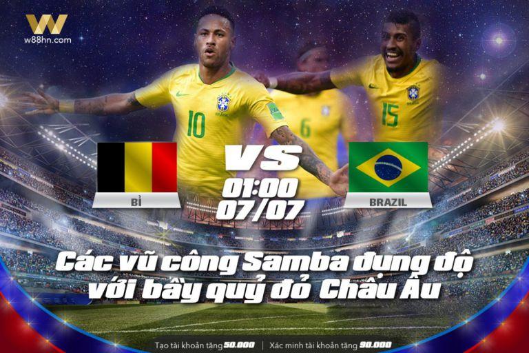 Soi kèo bóng đá - Bỉ vs Brazil