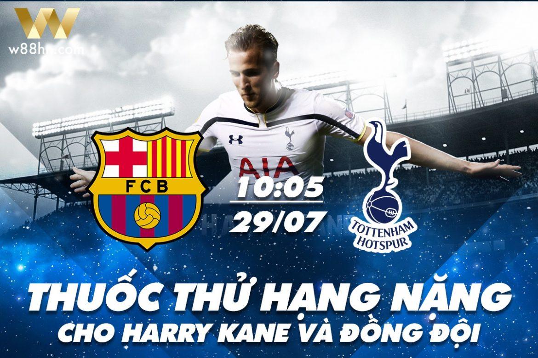Soi kèo bóng đá - Barca vs Tottenham