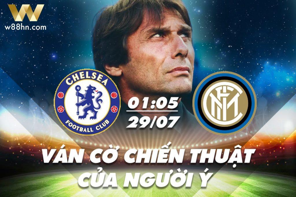 Soi kèo bóng đá - Chelsea vs Inter Milan