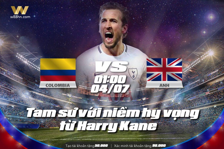 Soi kèo bóng đá - Colombia vs Anh