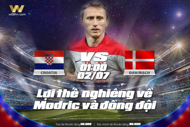 Soi kèo bóng đá - Croatia vs Đan Mạch