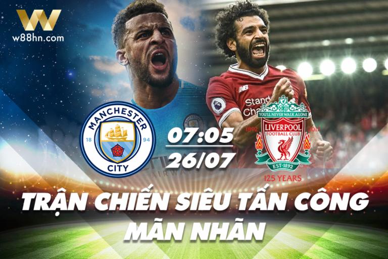 Soi kèo bóng đá - Liverpool vs Man City