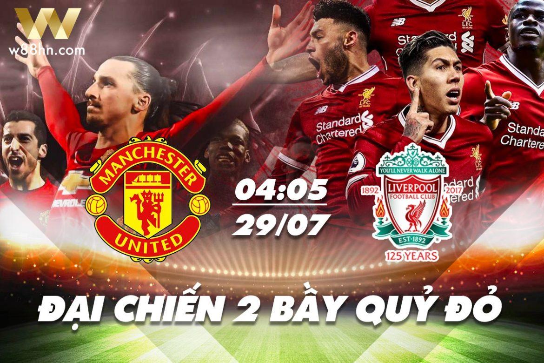 Soi kèo bóng đá - MU vs Liverpool