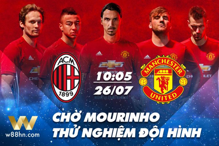 Soi kèo bóng đá - Milan vs MU