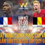 Soi kèo bóng đá - Pháp vs Bỉ