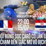 Soi kèo bóng đá - Pháp vs Croatia