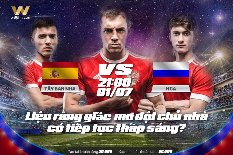 Soi kèo bóng đá - Tây Ban Nha vs Nga