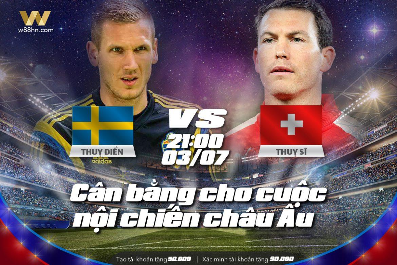Soi kèo bóng đá - Thụy Điển vs Thụy Sĩ