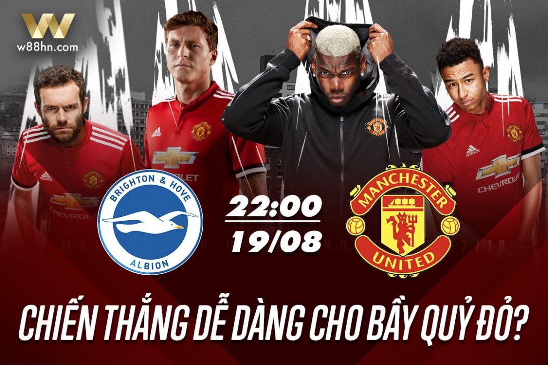 Soi kèo bóng đá - Brighton vs MU