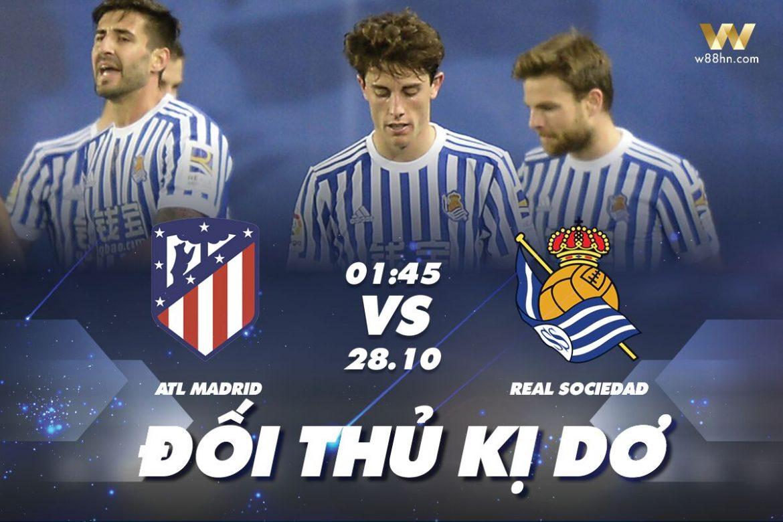 Soi kèo Atletico vs Real Sociedad