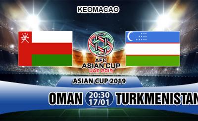 soi keo Oman vs Turkmenistan