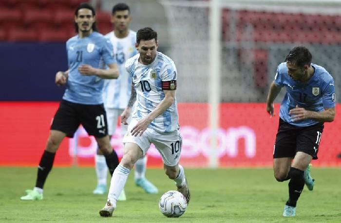 soi keo Argentina vs Uruguay 2