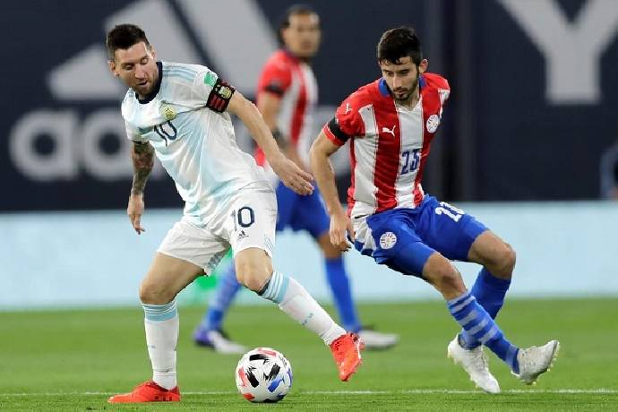 soi keo Paraguay vs Argentina 1